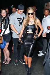 Paris Hilton Night Out Style - Sound Nightclub in Los Angeles - May 2014