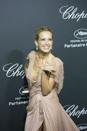 Petra Nemcova Wearing Elie Saab Couture Gown – Chopard Backstage Party – 2014 Cannes Film Festival