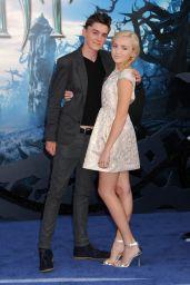 Peyton R. List – 'Maleficent' World Premiere in Los Angeles
