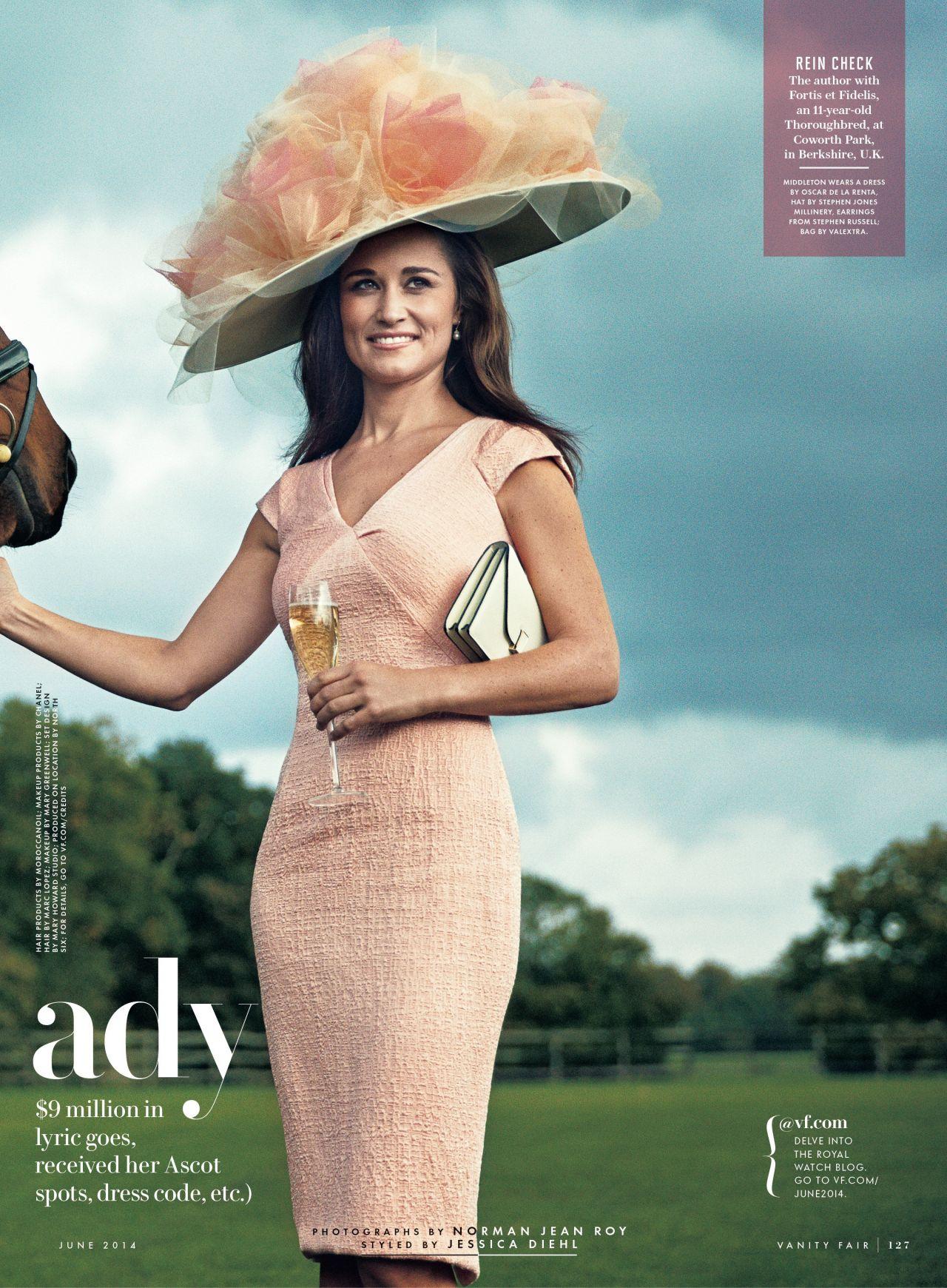 Pippa Middleton - Vanity Fair Magazine June 2014 Issue