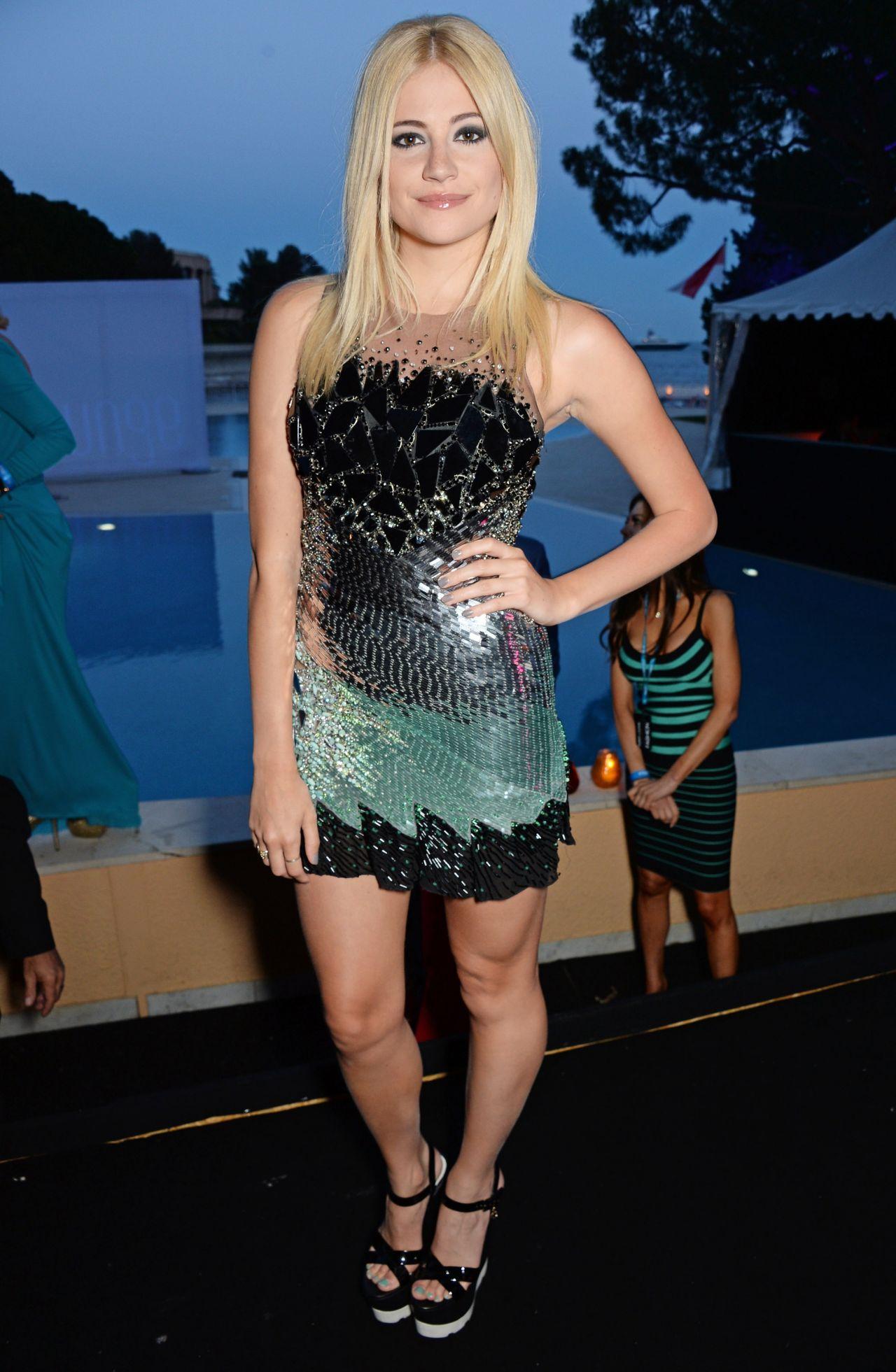 Pixie Lott Amber Lounge Gala In Monaco May 2014