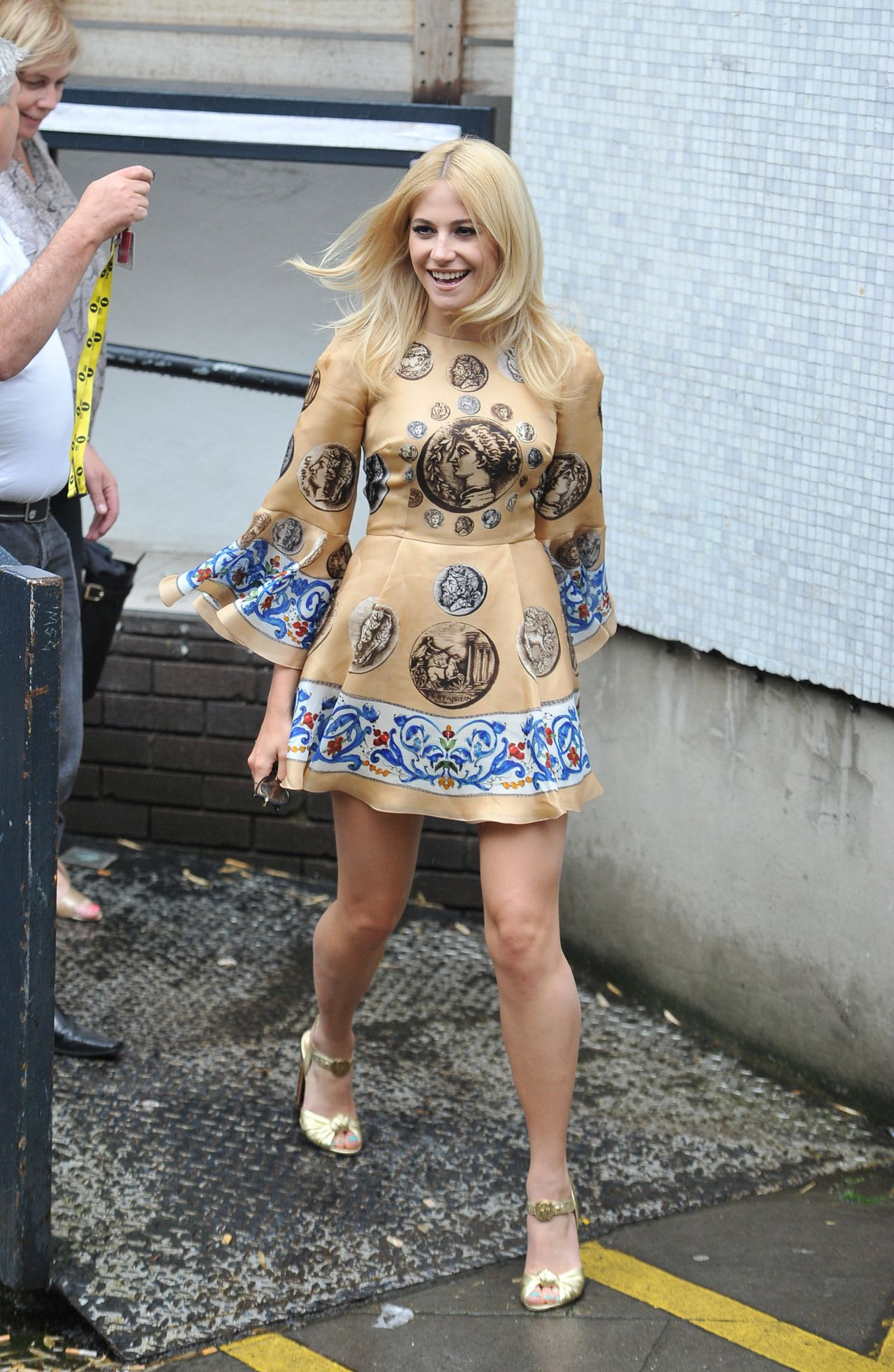 Pixie Lott - Arriving at ITV Studios in London - May 2014