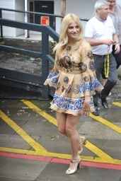 Pixie Lott - Arriving at ITV Studios in London - May 2014