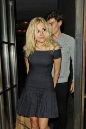 Pixie Lott - Leaving the Shoreditch House in London - May 2014