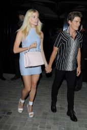 Pixie Lott Night Out Style - Leaving Chiltern Firehouse in London - April 2014