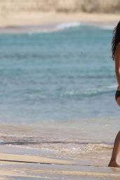 Rachel Bilson Bikini Candids - at a Beach in Barbados - May 2014