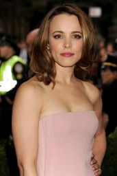 Rachel McAdams Wearing Ralph Lauren Gown  – 2014 Met Costume Institute Gala