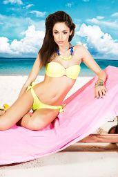 Raffaella Fico in Bikini - Fruscio Summer Collection 2014