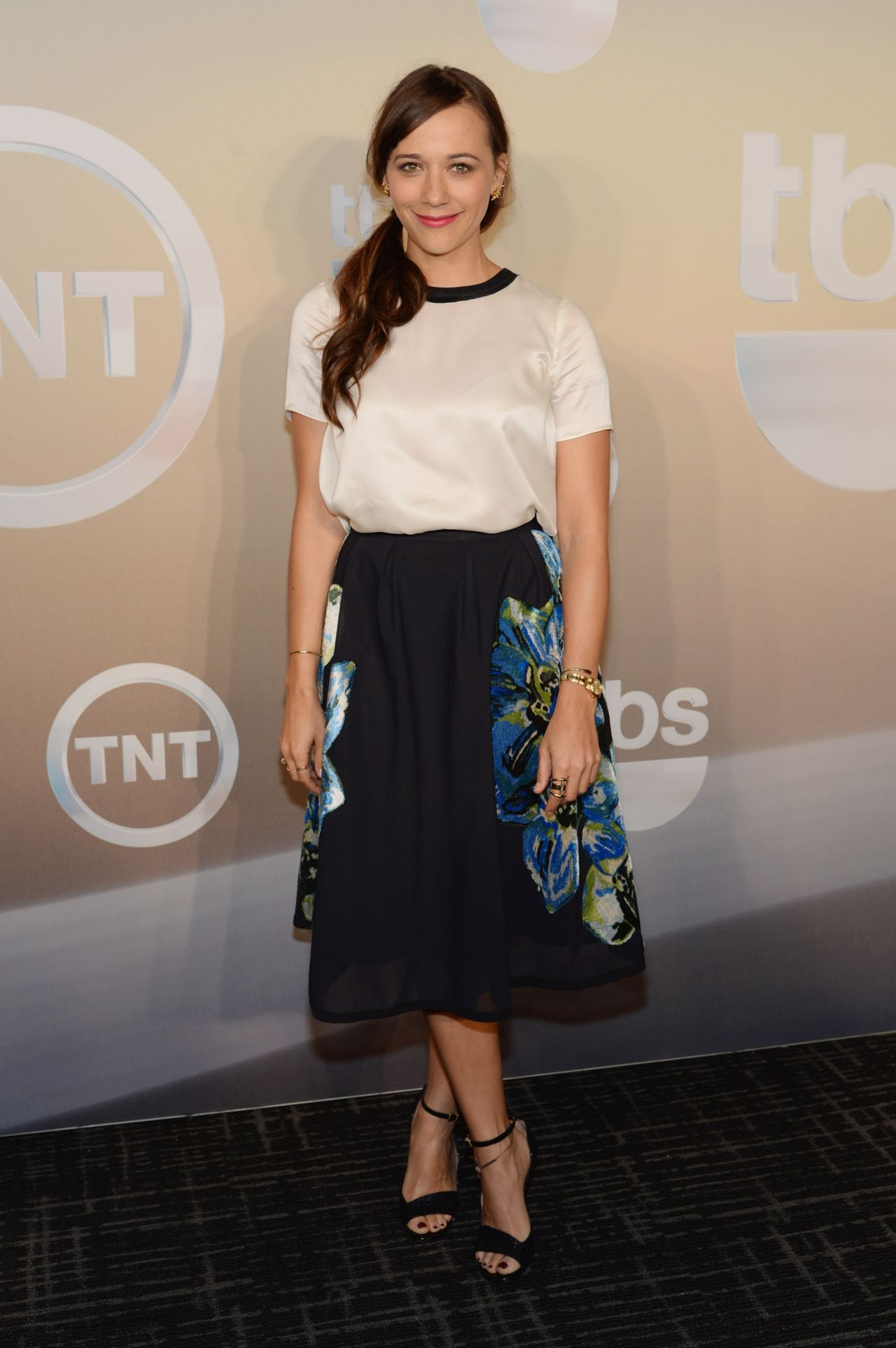 Rashida Jones - TBS / TNT Upfront 2014