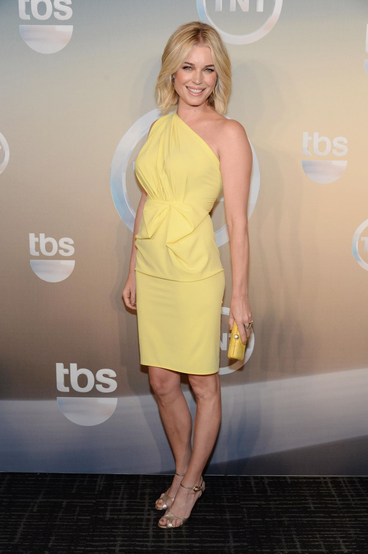 Rebecca Romijn At Tbs Tnt Upfront 2014 In New York City