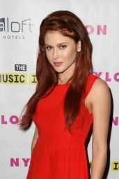 Renee Olstead - Nylon Magazine Music Issue party in Los Angeles - May 2014