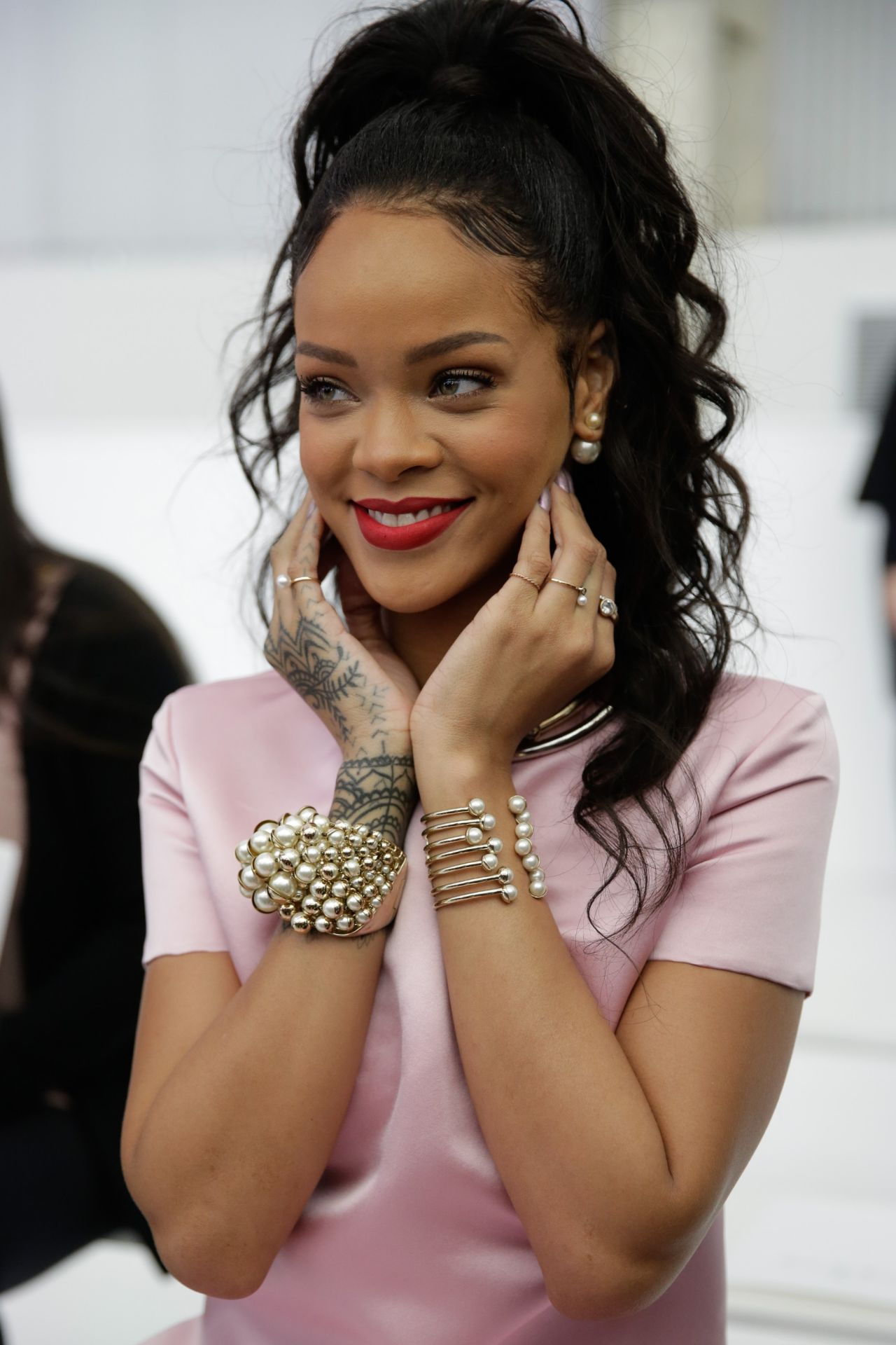 Rihanna Dior Cruise 2015 Fashion Show May 2014