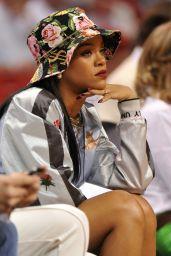 Rihanna - Miami Heat Basketball Game - May 2014