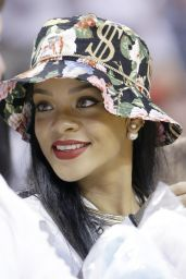 Rihanna - Miami Heat Basketball Game - May 2014