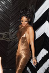 Rihanna Night Out Style - Met Ball After Party in New York City