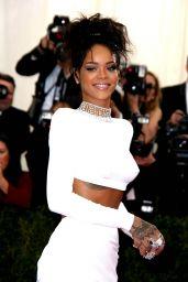 Rihanna Wearing Stella McCarteny – 2014 Met Costume Institute Gala
