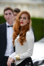 Riley Keough Wearing Louis Vuitton Dress - amfAR