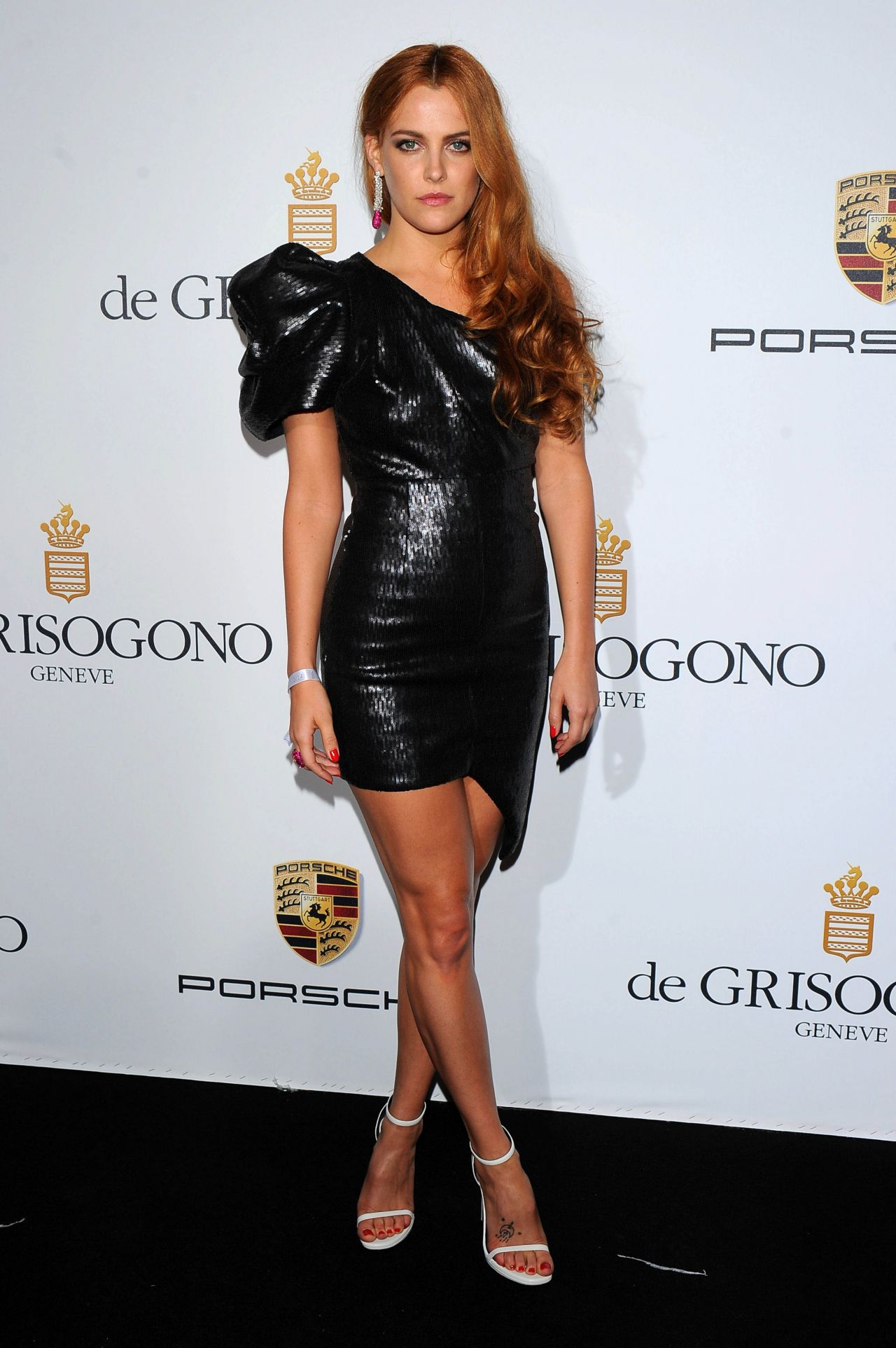 Riley Keough Wearing Saint Laurent Dress – de Grisogono 'Fatale In Cannes' Party – 2014 Cannes Film Festival