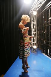 Rita Ora - 106FM & Park @ BET studio New York City - April 2014