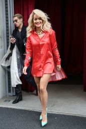 Rita Ora Arriving at Le Trianon Theatre in Paris - May 2014