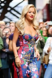 Rita Ora - Out in New York City - May 2014