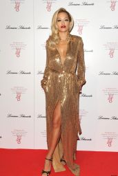 Rita Ora Wearing Emilio Pucci  Floor-Length Dress - 2014 Gabrielle