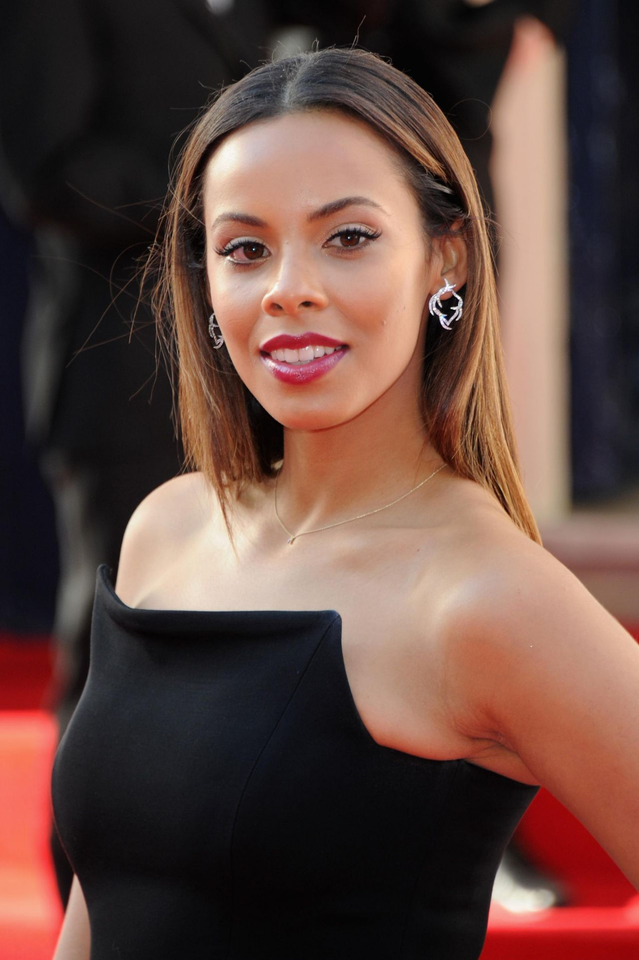Rochelle Humes Wiseman 2014 British Academy Television
