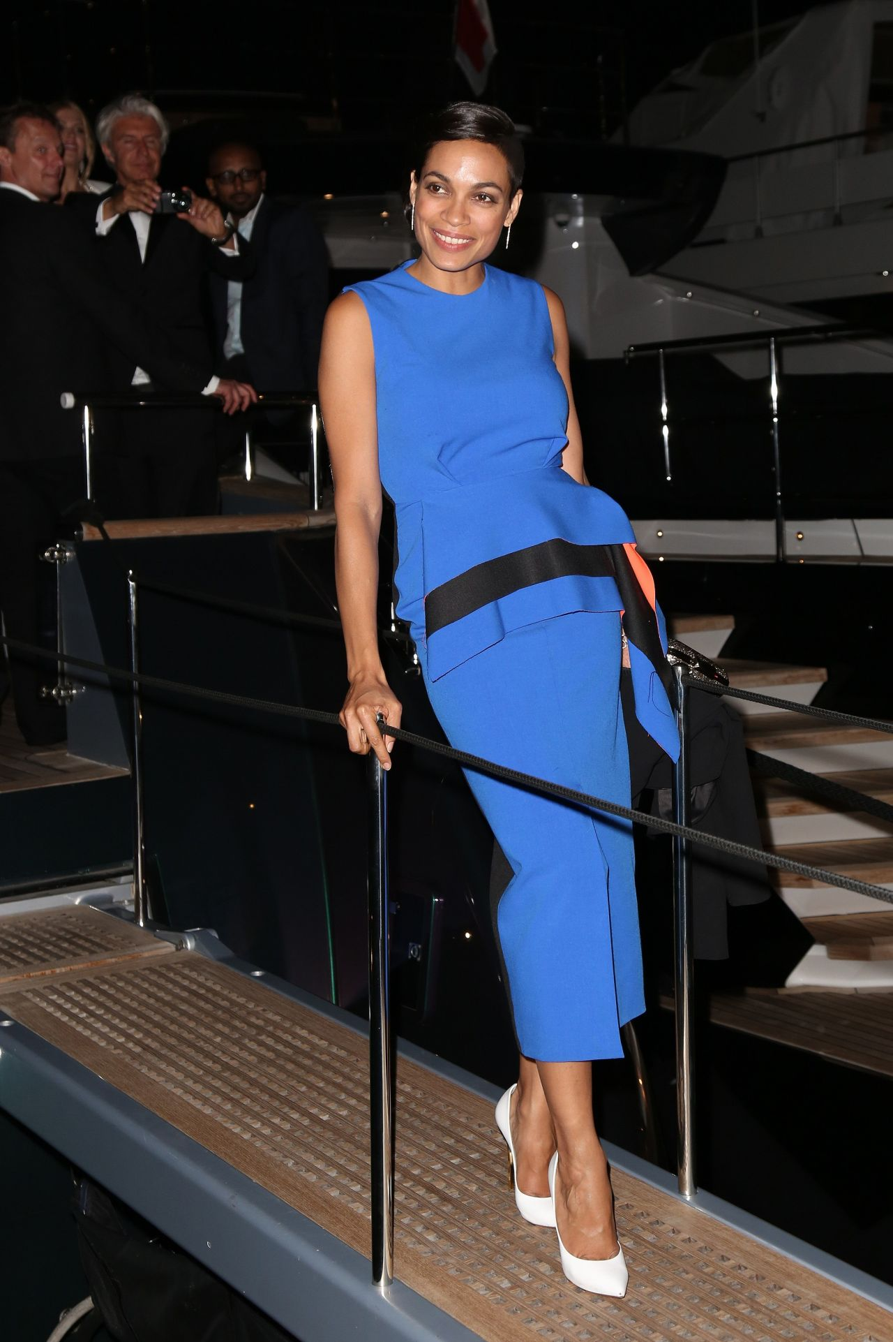 Rosario Dawson – Roberto Cavalli Hosts Annual Party Aboard His Yacht – 2014 Cannes Film Festival