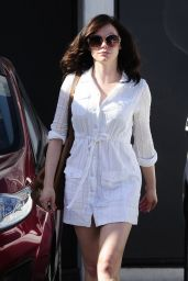 Rose McGowan - Leaving a Hair Salon in Beverly Hills - April 2014