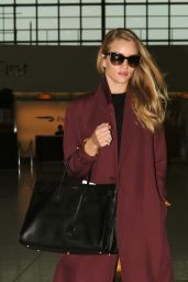 Rosie Huntington-Whiteley at Heathrow Airport in London - May 2014