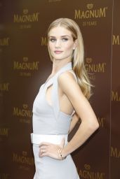 Rosie Huntington-Whiteley Attends the 25th anniversary Magnum Short Film Launch Photocall at Cannes