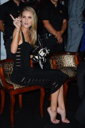 Rosie Huntington-Whiteley – Roberto Cavalli Hosts Annual Party Aboard His Yacht – 2014 Cannes Film Festival
