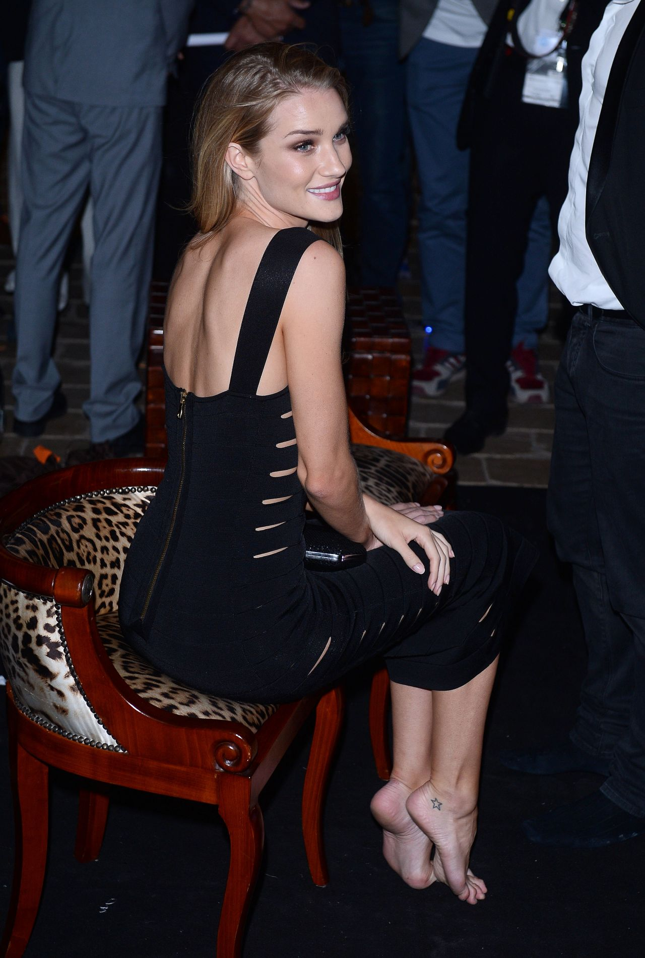a60de63d30be7 Rosie Huntington-Whiteley – Roberto Cavalli Hosts Annual Party Aboard His  Yacht – 2014 Cannes Film Festival