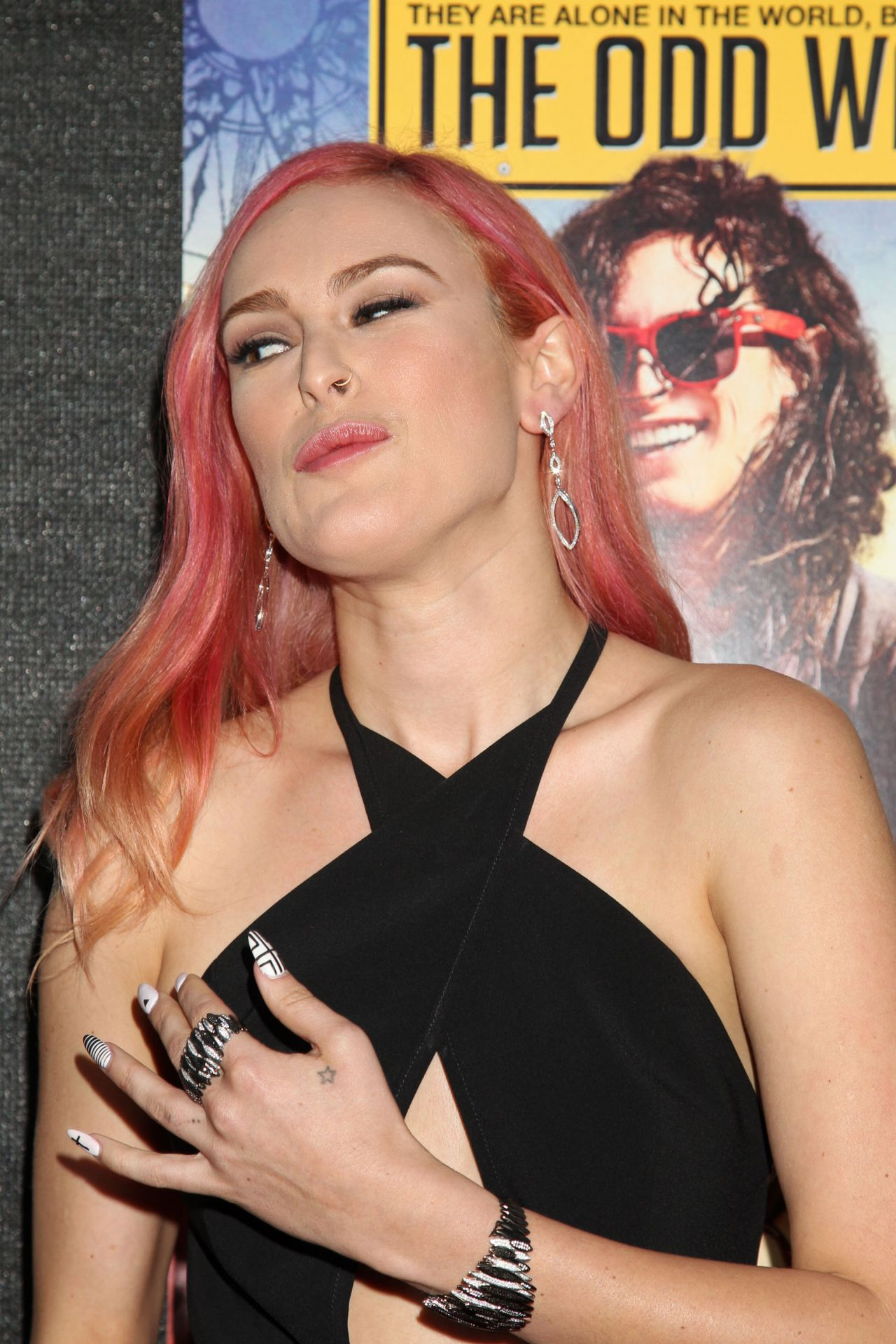 Rumer Willis The Odd Way Home Premiere In Hollywood