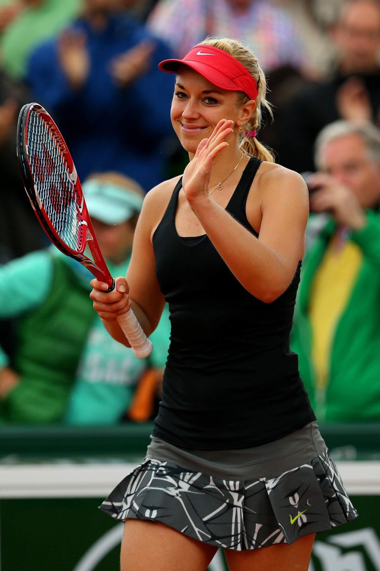 Sabine Lisicki 2014 French Open At Roland Garros Round One