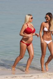 Sam & Billie Faiers in a Bikinis On Holiday in UAE - April 2014