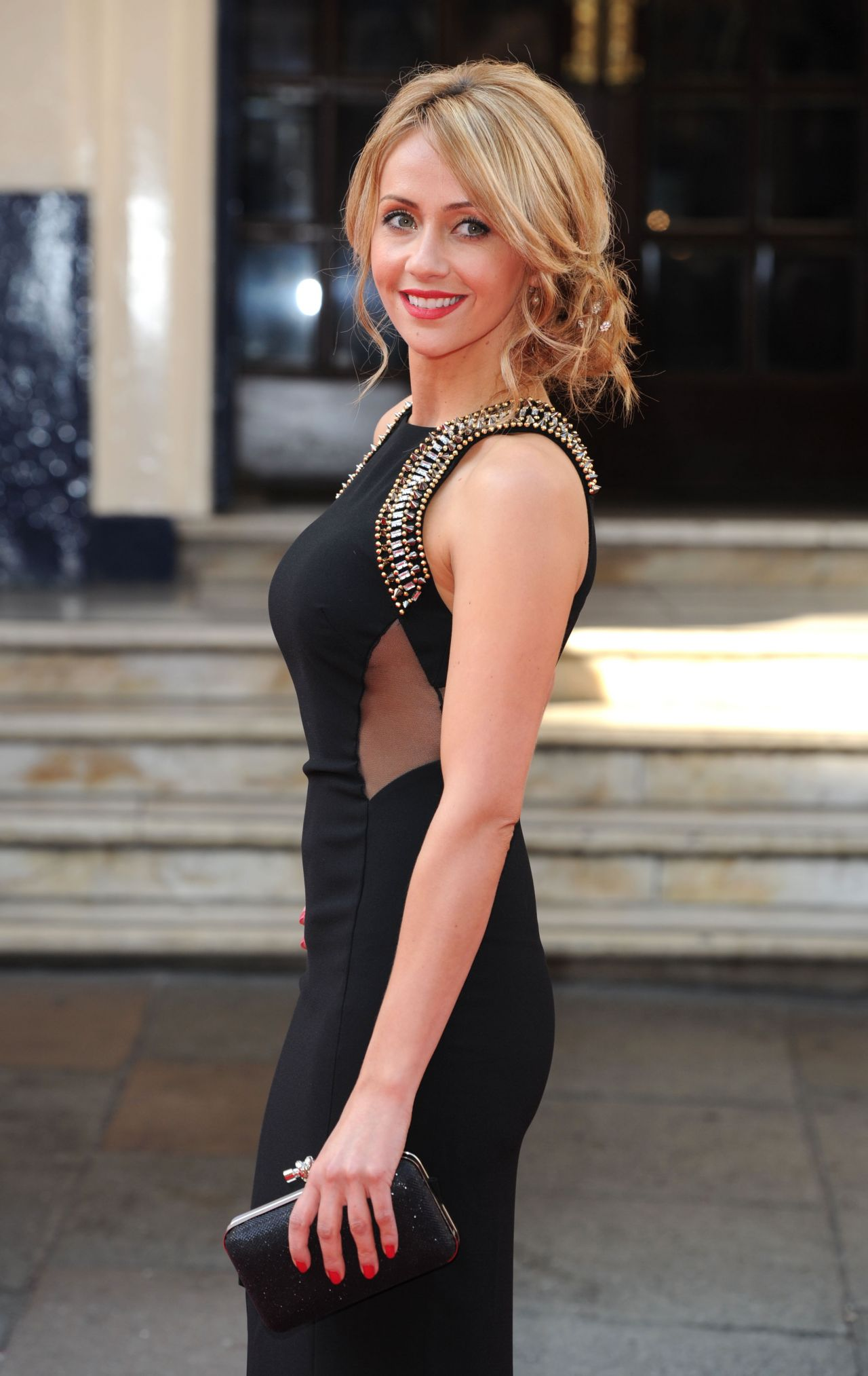 Samia Ghadie - 2014 British Academy Television Awards in London