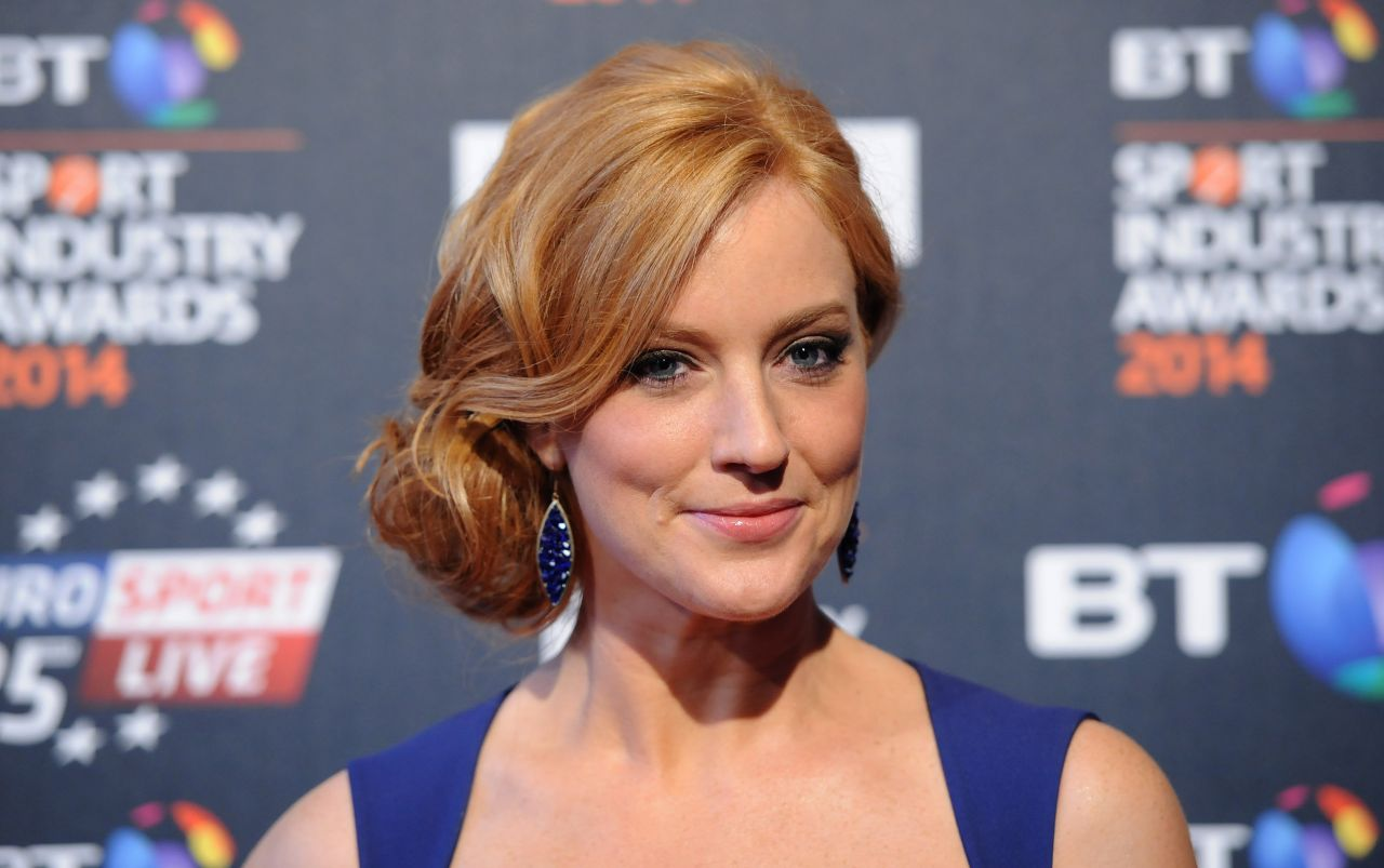 Sarah-Jane Mee - 2014 BT Sport Industry Awards in London