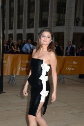 Selena Gomez Wearing Lanvin at 2014 American Ballet Theatre Opening Night Spring Gala in New York City