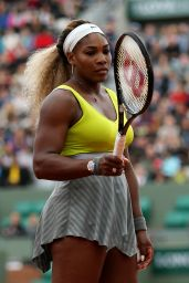 Serena Williams - 2014 French Open at Roland Garros – 2nd Round
