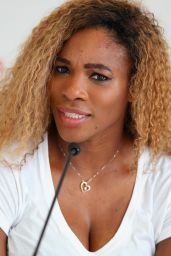 Serena Williams - Media day at Italian Open 2014 in Rome