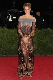 Shailene Woodley Wearing Rodarte Gown – 2014 Met Costume Institute Gala