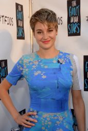 Shailene Woodley Wearing Wearing Preen - The Fault In Our Stars Fan Event in Miami - May 2014