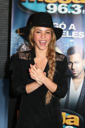 Shakira - Unveils New Radio Station in Los Angeles - May 2014