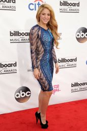 Shakira Wearing Julien Macdonald Dress - 2014 Billboard Music Awards in Las Vegas