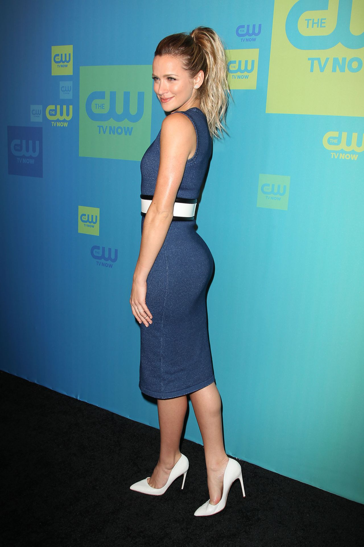 Shantel Vansanten The Cw Network S 2014 Upfront In New
