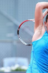 Simona Halep – Mutua Madrid Open 2014 – Day Five