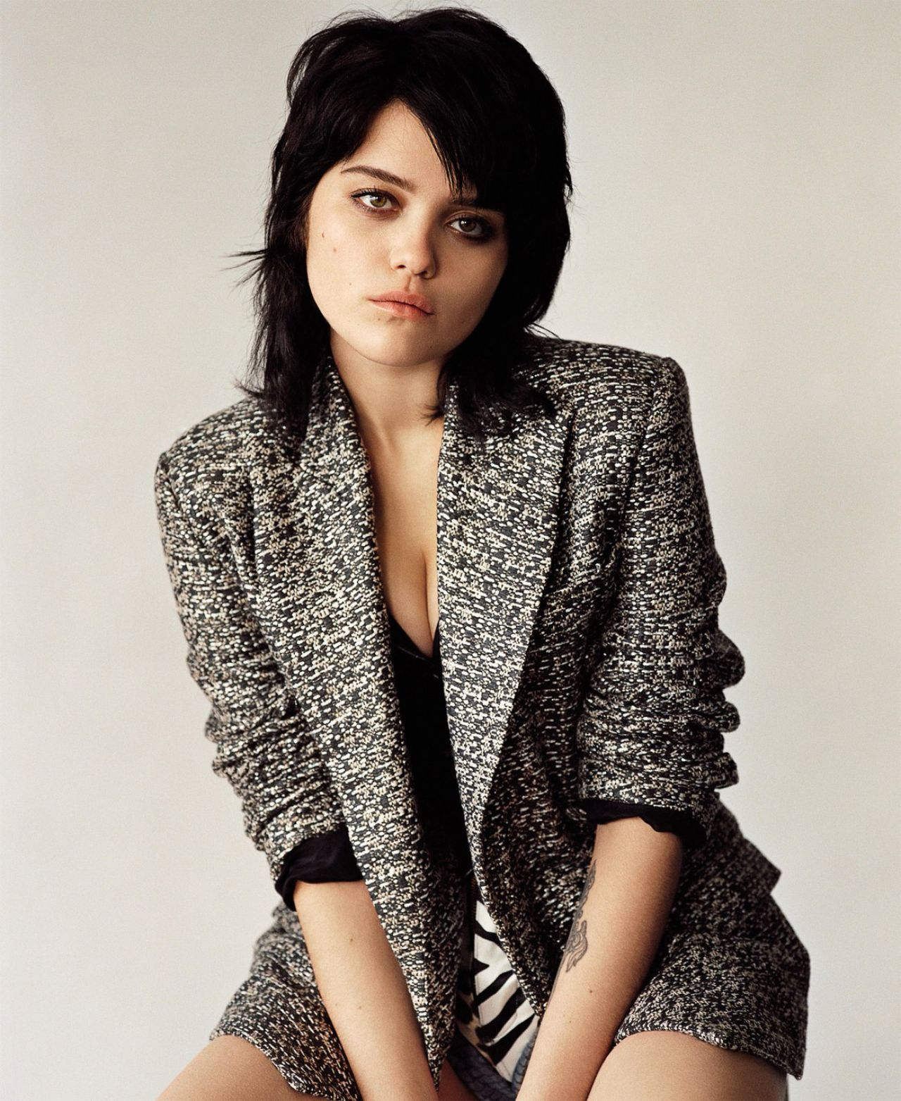 Sky Ferreira - Photoshoot for M Le Monde Magazine April 2014 Issue