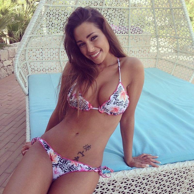 Sofia Valleri in a Bikini Photoshoot - May 2014
