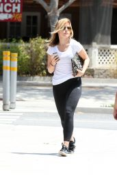 Sophia Bush in Leggings - Out in Los Angeles - May 2014